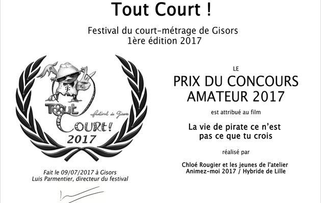 [NOS FILMS EN FESTIVALS] La Vie de Pirate (...) - Festival Tout Court ! (Gisors)