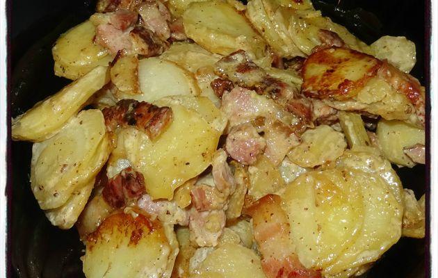Pommes de terre sautées à la crème