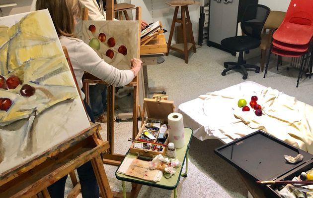 Cours de peinture à l'huile avec Zhen, il reste des places