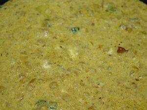 Poulet Tikka Masala, Chana Dal et riz safrané