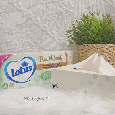 Test des mouchoirs Lotus Pure Natural