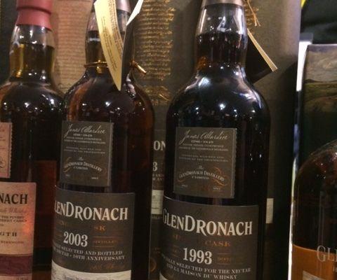 Glendronach 23Y Single Cask La Maison du Whisky & The Nectar.