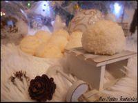 Petites boules de neige à la noix de coco !