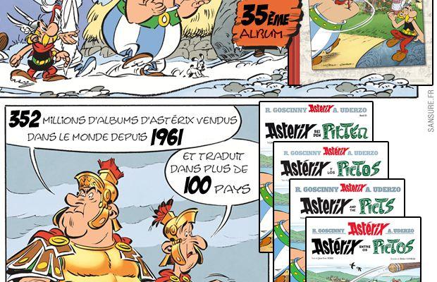 Les chiffres du succès d'Astérix et Obélix ! #Astérix