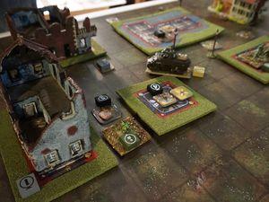 Clint réussi à éjecter les troupes allemandes mais il ne tient pas le tour nécessaire et c'est le drame !