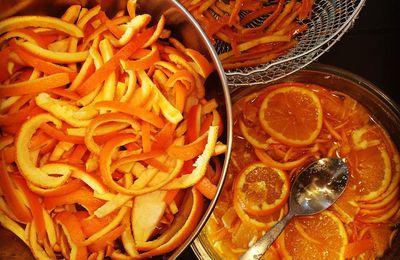Orangettes ou citronnettes confites