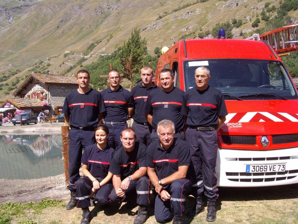 Bessans : un vivier très actif de pompiers volontaires
