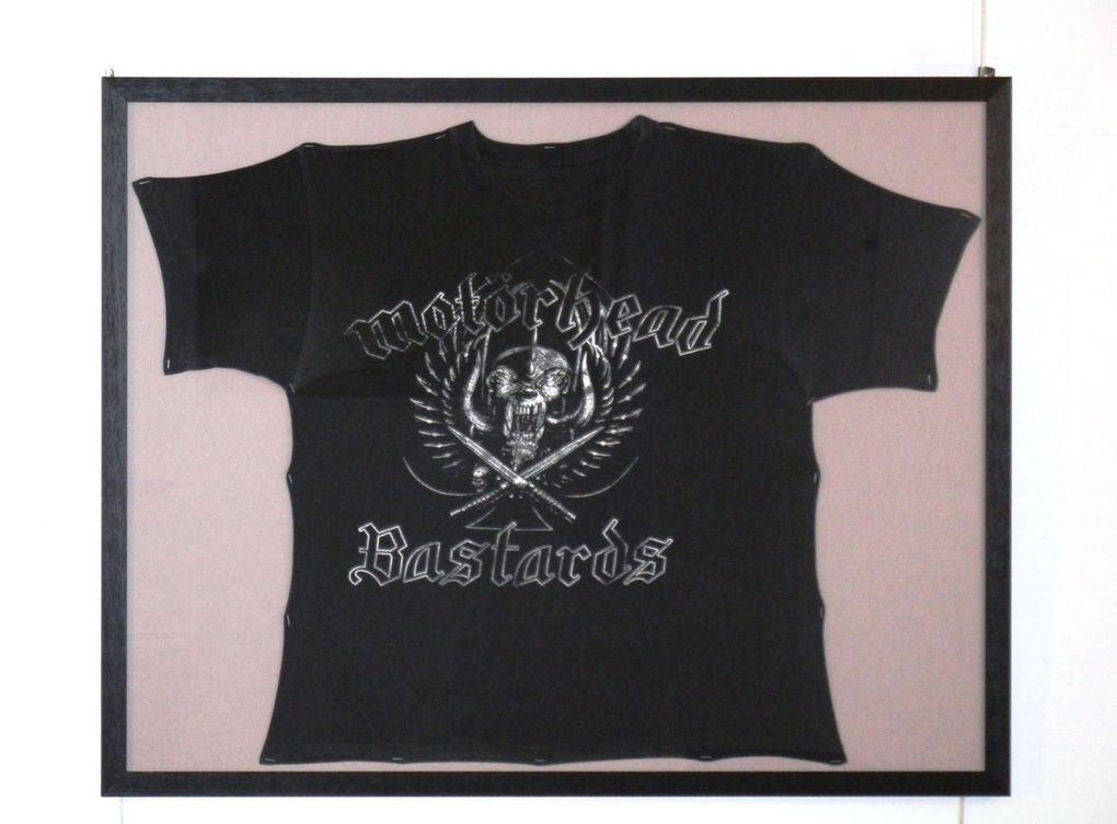 Musique : faire encadrer un disque, des billets de concert, un tee shirt, un poster de votre groupe préféré