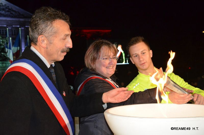 Le Relais Angevin de la Mémoire     De Paris à Angers!