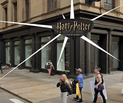 Official Harry Potter Store Opening in New York in 2020