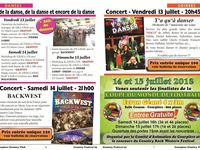 FESTIVAL DE COURPIERES   13 14 15 JUILLET