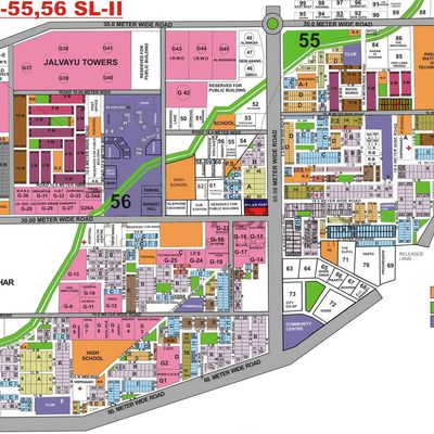 60 sqyd -500 sqyd plots for sale in Sushant lok 2 gurgaon