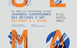 Les Journées Européennes des Métiers d'Art sont en ligne