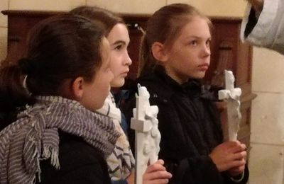 24 octobre : Bénédiction de croix...