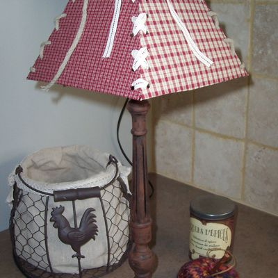 Ma lampe country .....