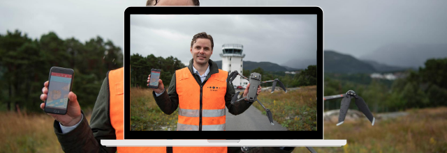 Avinor ANS begins roll out of first Nordic UTM system at two airport towers in Norway paving the way for its future tech-economy