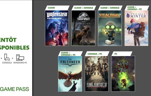 [[ACTUALITE] Xbox Game Pass - Final Fantasy XII, Project Winter, The Falconeer et d'autres jeux arrivent