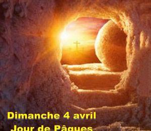 Dimanche 4 avril : Dimanche de Pâques