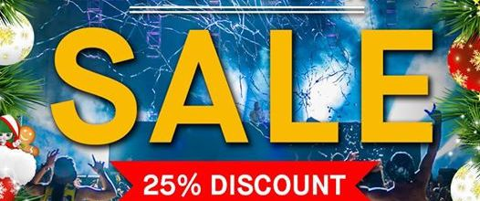Tiëstoshop - Christmas Countdown, 25% discount #tiesto
