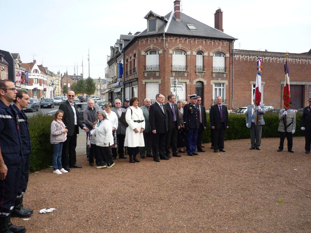 Commémoration 25 avril 2010 à Corbie