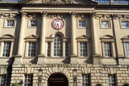 Bristol - L'étrange horloge du Corn Exchange