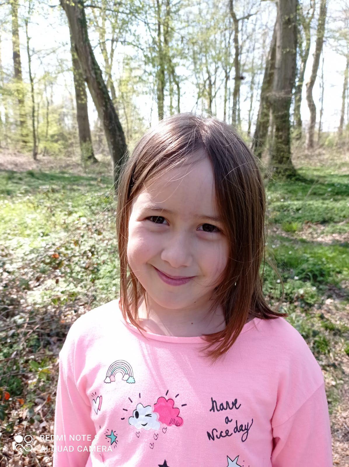 Leonie a 7 ans