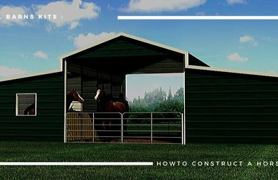 A Few Valuable Tips For Your Dream Metal Horse Barn