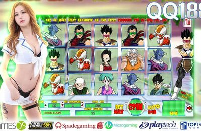 A Famous Anime Turn To a Slot Game Dragon Ball Reels Slot Machine