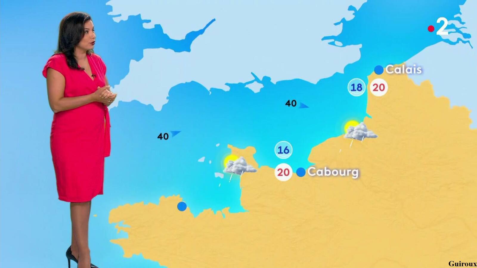 Anaïs Baydemir 31/07/2021 Journaux météo du soir + Météo des plages