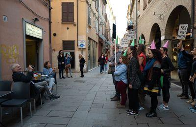 ODYSSEE KARAVANA Ferrara  Italie