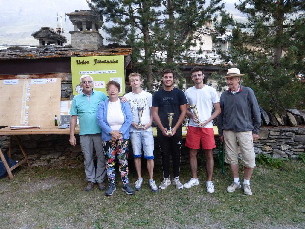Bessans : l'Union Bessanaise fait le plein pour son concours de pétanque