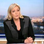 La réponse du parti socialiste aux propos de Marine Le Pen au 20h de TF1