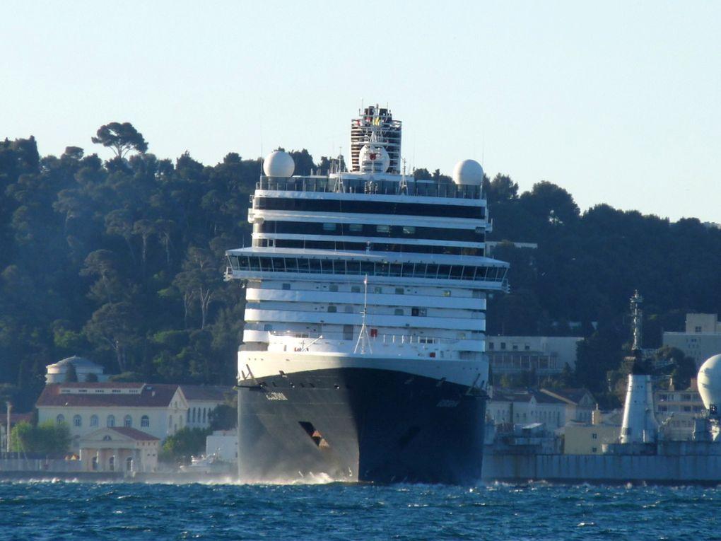 EURODAM , arrivant dans le port de Toulon le 25 avril et 31 mai 2016