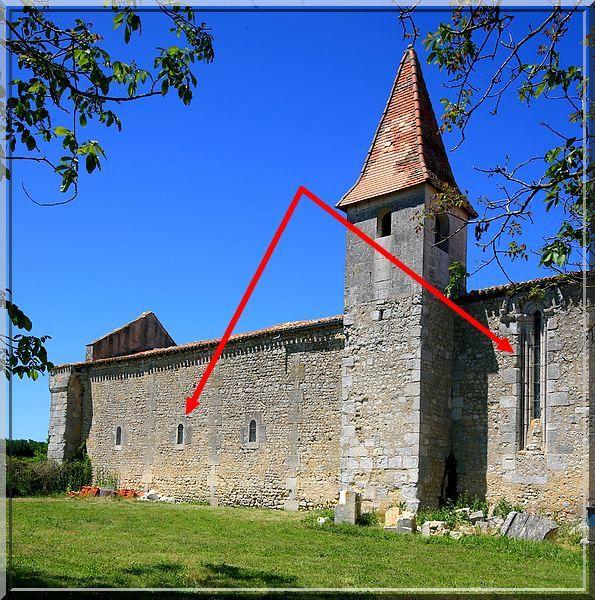 Diaporama église fortifiée de Bessac