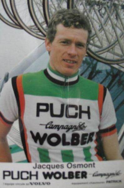 Jacques Osmont vainqueur du chrono en 1976.
