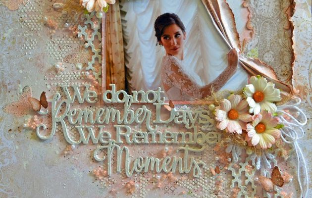 Pages de scrapbooking Style Vintage Et Style Shabby Chic inspirations