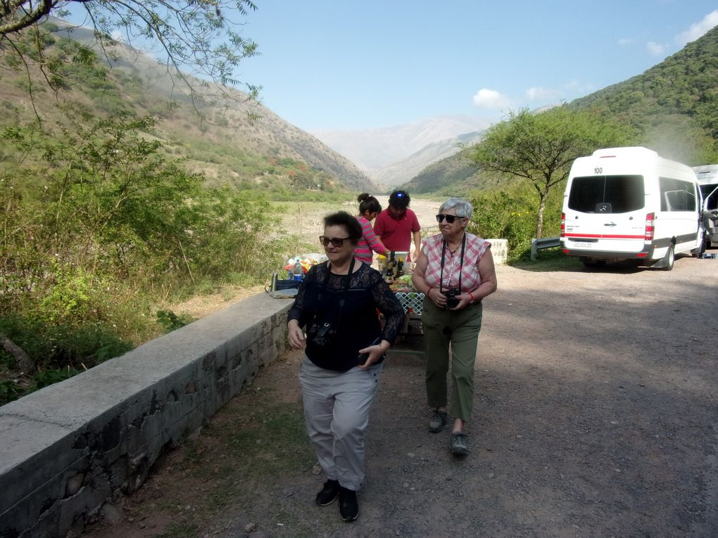 Voyage en Argentine.....  De Salta à Cachi par la Quebrada de Escoipe  puis descente sur Cafayate.
