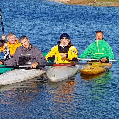 Kayak polo à Poulafret