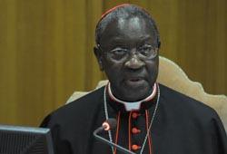 Cardinal Sarr - Un pacte social lie l'Eglise à l'Afrique