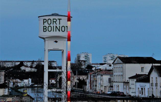 Port Boinot de bon matin