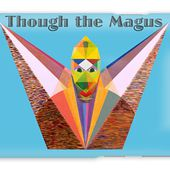 Though The Magus Text Galaxy Case for Sale by Michael Bellon