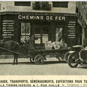 Les vitrines d'Issoire - L'Auvergne Vue par Papou Poustache