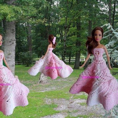 tuto gratuit Barbie  princesse