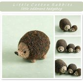 Toy knitting pattern for a little hedgehog - $1.50 GBP