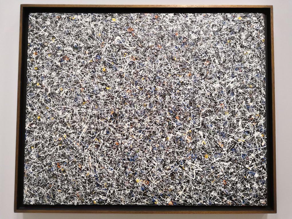 Lee Krasner (1908 - 1984), Sans titre, 1947, Huile et émail sur toile de lin, Whitney Museum of American Art, New York