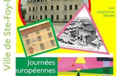 Journées du patrimoine : l'éducation à l'honneur les 19 & 20 septembre