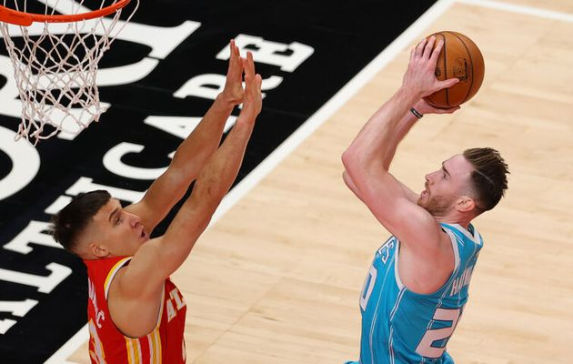 Gordon Hayward mène les Hornets avec 44 points face à Atlanta
