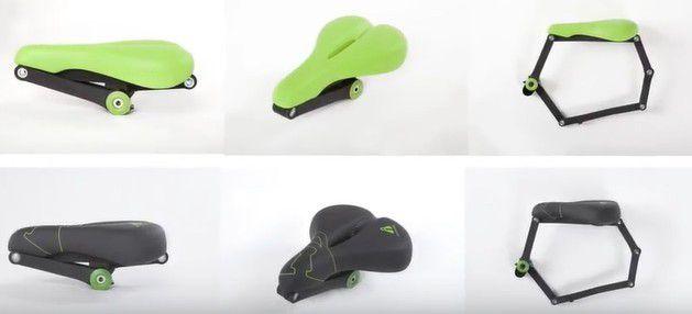 Innovation produit : SeatyLock, la selle antivol très innovante