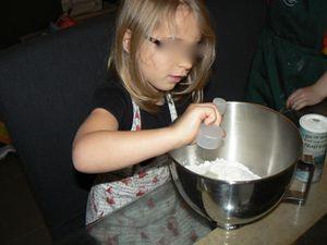 De la farine, du sel, de la levure et de l'eau...