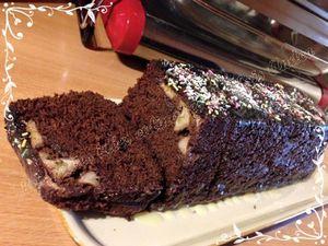 Cake banane et chocolat